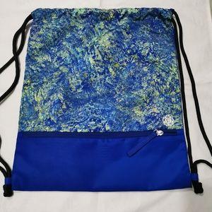 Lululemon Drawstring Bag / Backpack Seawheeze 2019